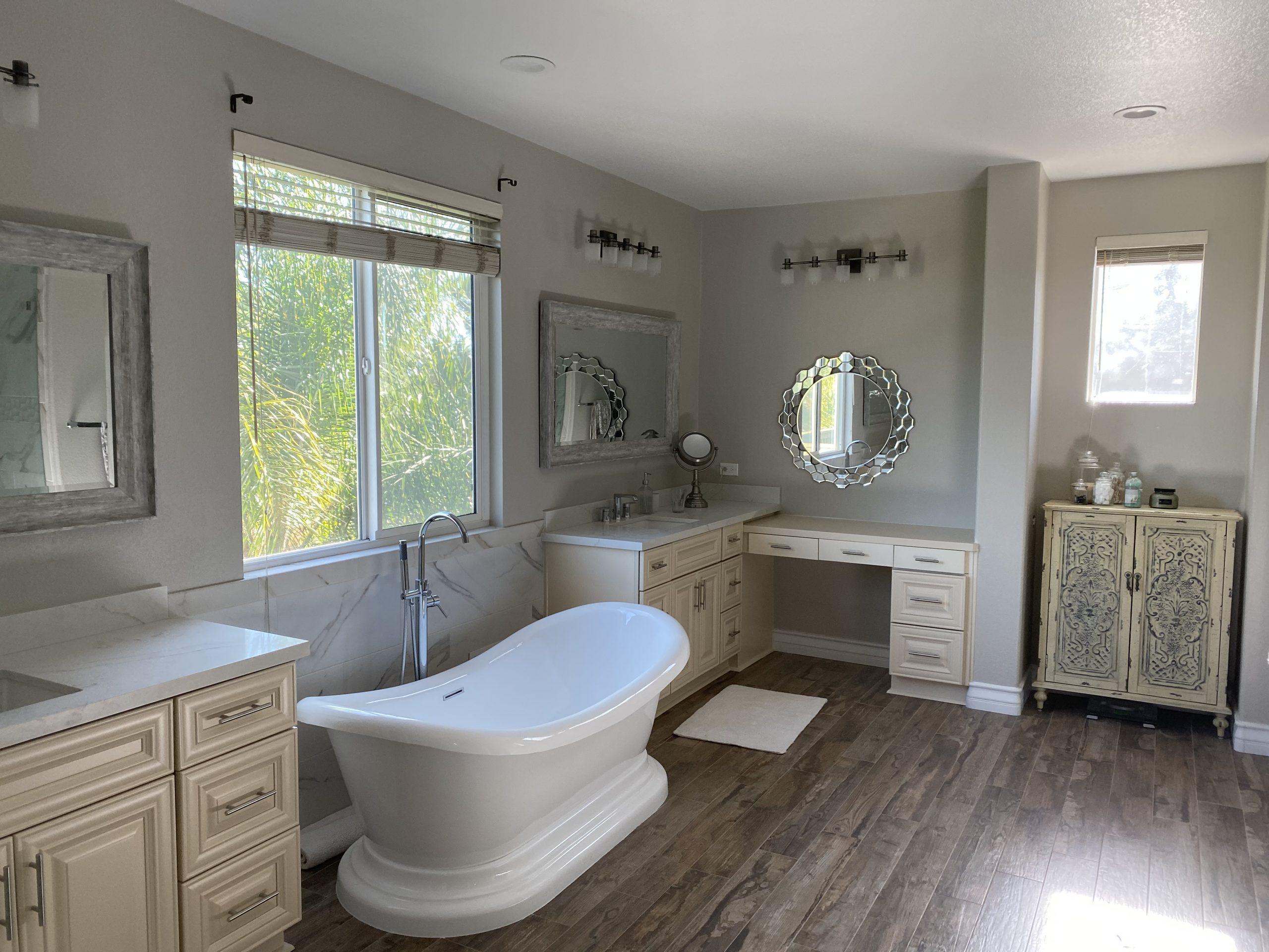 master bath Vista